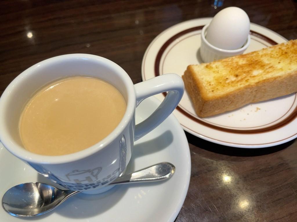 星乃珈琲 三鷹 星野珈琲 モーニング カフェインレスコーヒー