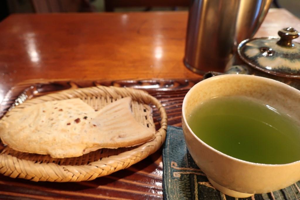 三鷹 たい焼き 日本茶 たかね