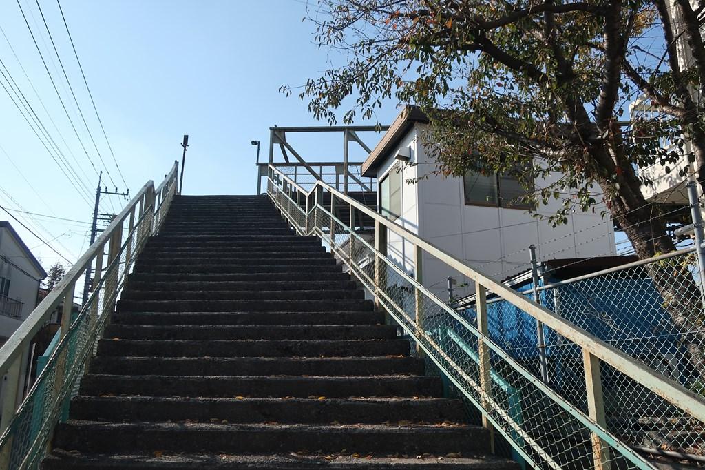 三鷹 三鷹跨線橋 三鷹車両センター 三鷹車両基地 電車庫通り 富士山