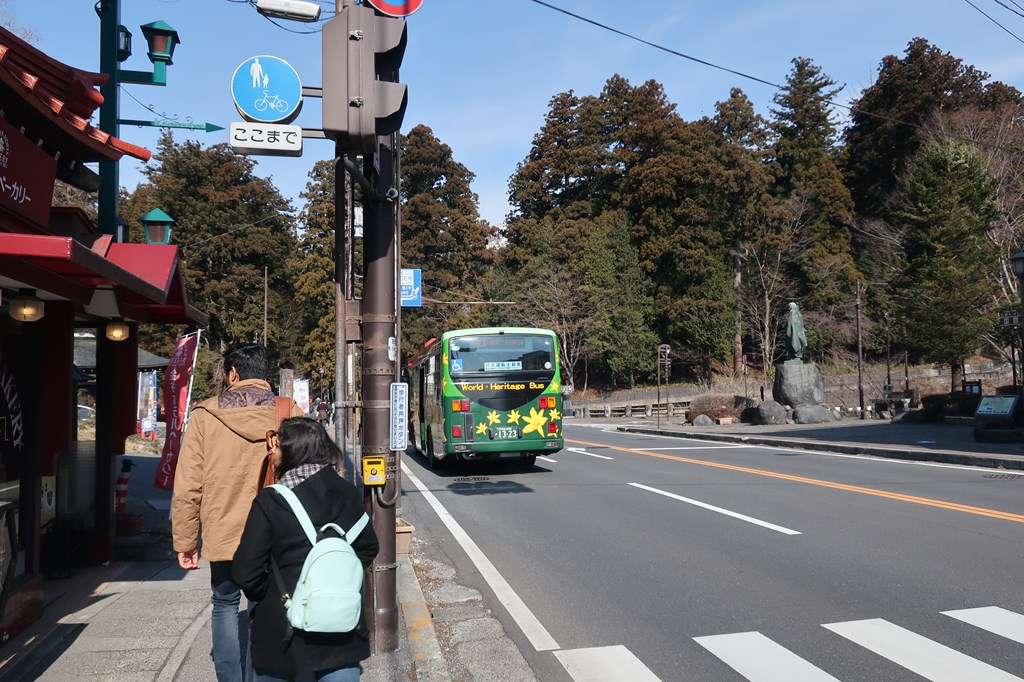 日光東照宮 東武鉄道 リバティけごん