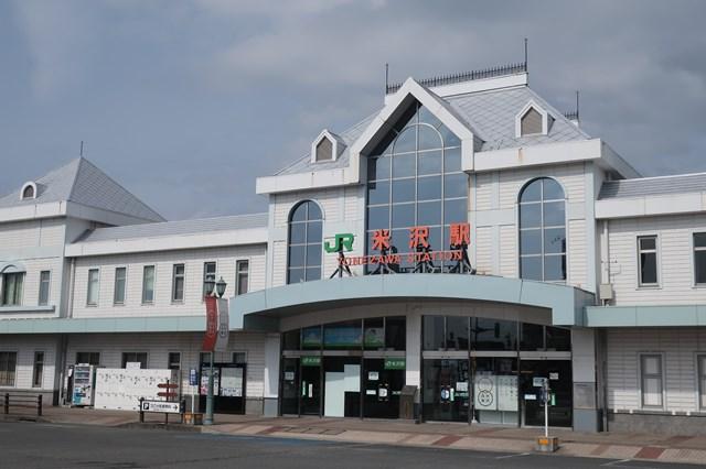 米沢駅 コインロッカー 場所 松が岬公園 上杉神社