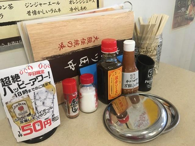 三鷹 串カツ田中 ランチ