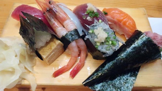 三鷹 寿司ランチ 寿司ふく 昼飲み
