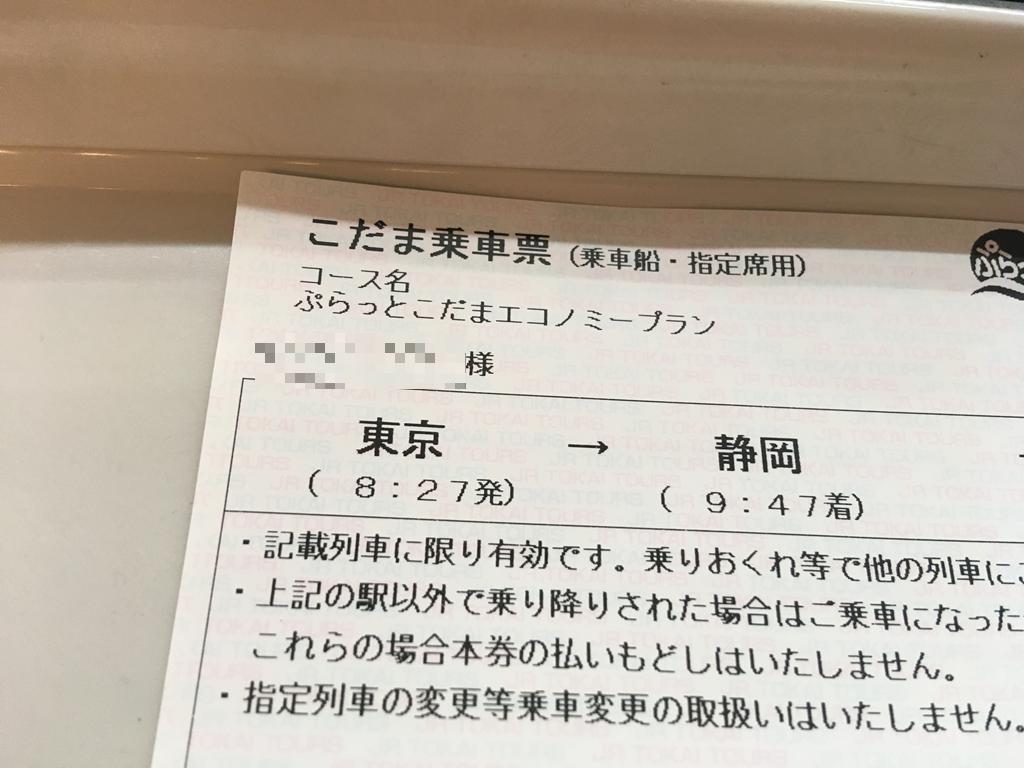 ぷらっとこだま 予約 go toキャンペーン 静岡