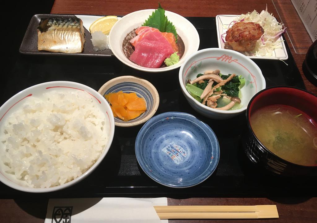 マグロ食堂魚金 吉祥寺 ランチ まぐろ食堂