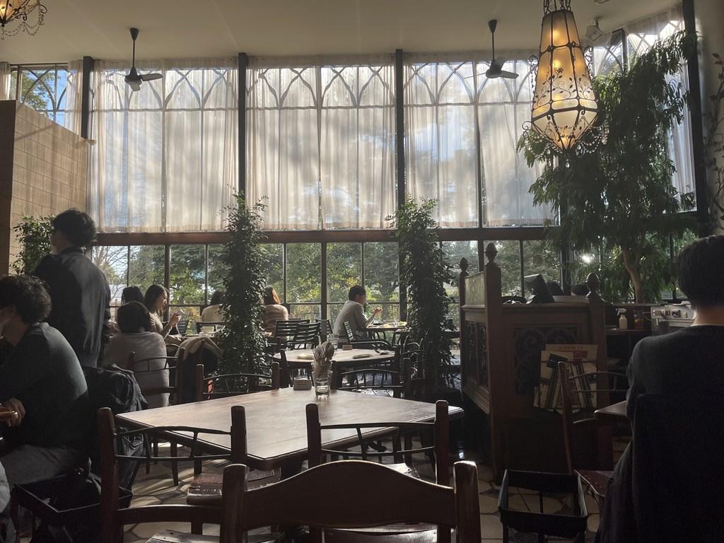 カフェ・ラ・ボエム 新宿御苑 君の名は イタリアン ランチ