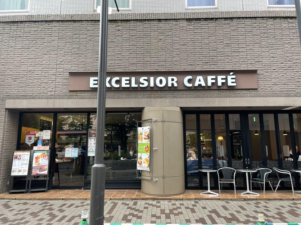 エクセシオールカフェ 武蔵境 ホテルメッツ武蔵境店エクセシオール モーニング wifiあり 電源あり